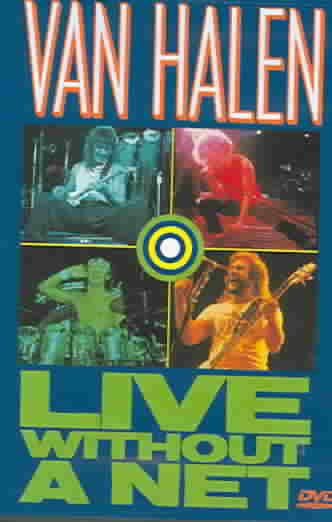 LIVE WITHOUT A NET BY VAN HALEN (DVD)