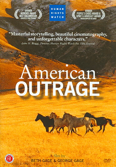 AMERICAN OUTRAGE BY GAGE,BETH (DVD)
