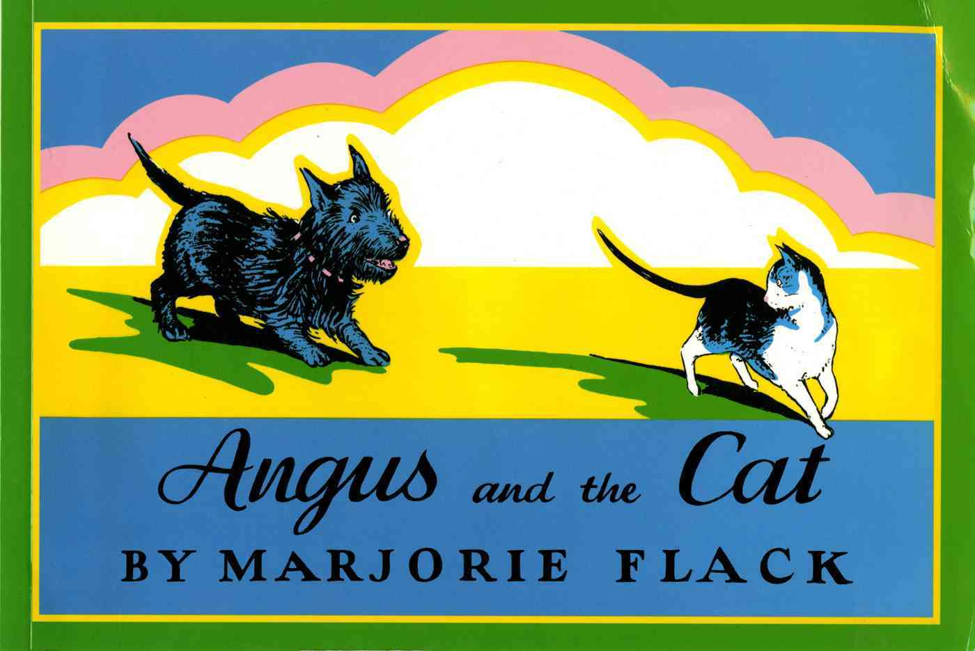 Angus and the Cat By Flack, Marjorie